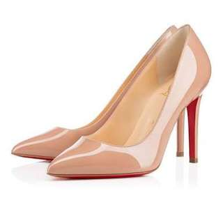 Christian Louboutin Pigalle 100 Nude 37.5