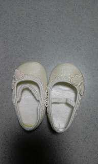 Baby white shoes 女嬰鞋