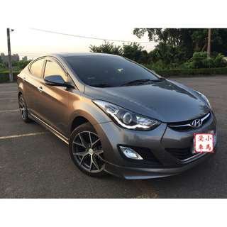 <小馬愛車> 2013 Hyundai Elantra 1.8 鐵灰