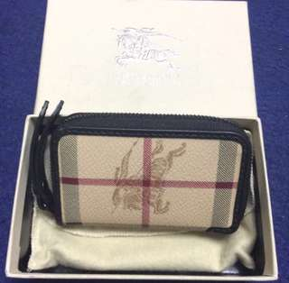 Burberry new key pouch