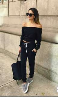 Off Shoulder and Pants Terno
