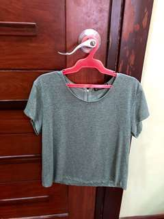 Cotton On Color Sage Top