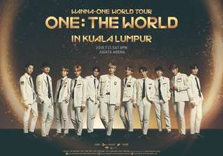 [WTS] VIP 307 Wanna One in KL