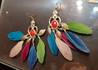 Earrings Colorful