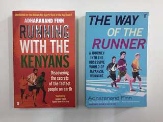 Running books by Adharanand Finn