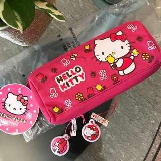 Hello Kitty Pencil case, Melody Keychain, Hello Kitty Keychain