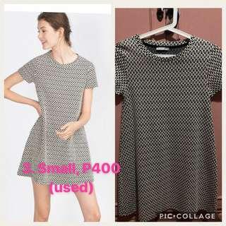 Zara TRF Jacquard Dress