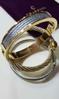 Chariol bangles, tiffany and co. Necklaces and bracelets etc.