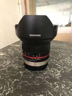 Samyang 12mm f2 fujifilm x mount