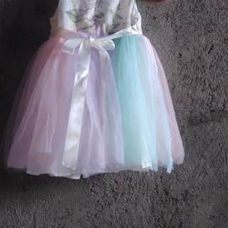 Tutu dress for unicorn party