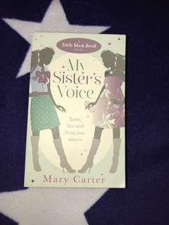 Rp$11-My sister's voice book by Mary Carter