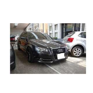 2009年 奧迪 A3 灰 ✅0頭款 ✅免保人✅低利率✅低月付 FB搜尋:阿源 嚴選二手車/中古車買賣