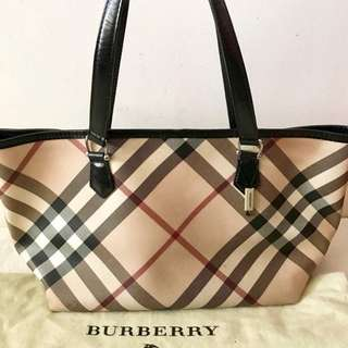 Burberry Nova Check Tote