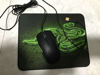 Razer Taipan mouse and mat