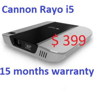 PICO projector - CANON RAYO i5 - 15 months warranty
