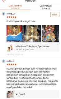 Testimonial from customer
