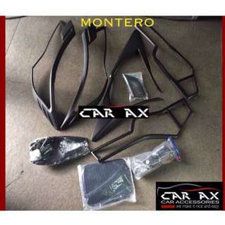 Mitsubishi Montero Head light tail light gas tank door handle covers
