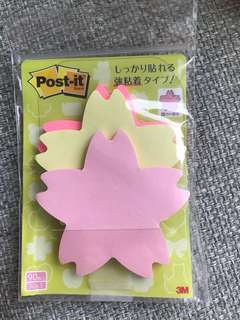 3M Sakura 櫻花 post it