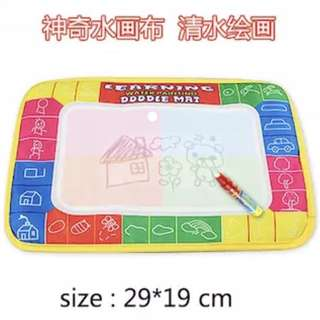 Kids Doodle Mat with water based pen