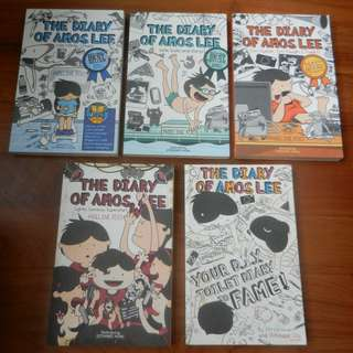 The Diary of Amos Lee / Diary of a Wimpy Kid