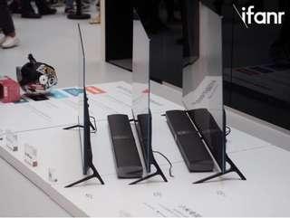 "TV 55"" 65 inches  Frameless Desgin Mi TV 4 Utrla Thin Samsung pannel Home threater system"