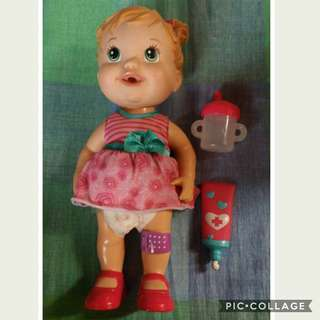 Auth baby alive with accesories