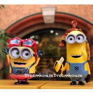 大阪環球影城 小小兵 派對眼鏡 凱文 香蕉 爆米花桶 置物桶 收納桶