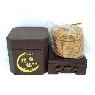 (七星檀香) 4H梢楠盤香 Natural Cedar 4hours Incense Coil