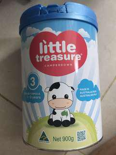 Little treasures stage 3 milk powder 900g