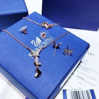 施華洛世奇 Swarovski 蝴蝶🦋套裝