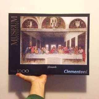 Leonardo Da Vinci's Last Supper 1000 piece jigsaw puzzle