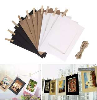 "6"" Hanging Wall Photo Frames"