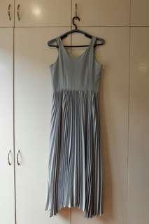 Megane Jovie's Pleated Dress