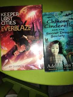 🚚 Everblaze (Keeper of the lost cities), Chinese Cinderella and the secret dragon society