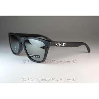 76fe42884d7 BNIB Oakley Frogskins Asian Fit Checkbox Collection checkbox black + prizm black  iridium OO9245-5754