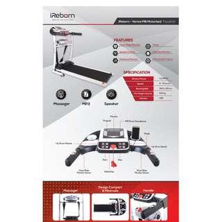 Treadmill Listrik elektrik 2 Fungsi Venice harga murah dan bagus