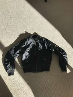 Never been worn Completely New Black Bomber Jacket Cheap