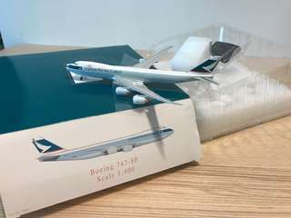 Boeing 747-8F Cathay pacific scale 1:400