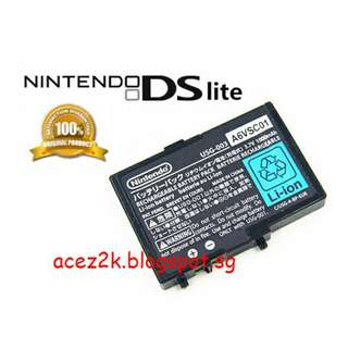 [BN] NDS DS Lite Original Nintendo Rechargeable Battery USG-003 (Brand New)