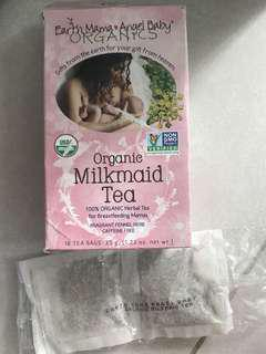 Organic earth mama Milkmaid tea for breastfeeding mama(8 tea bags)