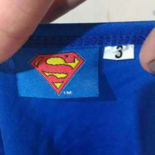 Superman Costume 2 To 3yrs Old Guc 140