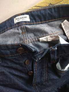 Celana pull n bear slim fit