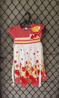 Dress anak usia 5-7 tahun