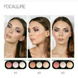 Highliter and blush focallure