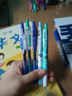 Sarasa and Pilot Juice pens