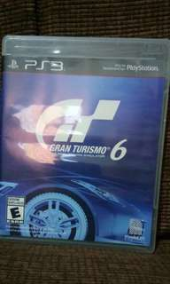 GRANT TURISMO 6 PS3