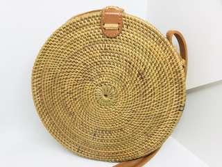 Rattan bag - Plain Natural
