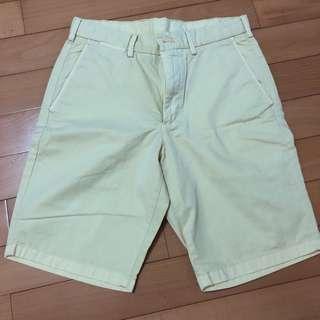 Uniqlo chino shorts.