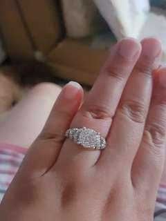 TSL diamond ring 拼石款卡半枱面