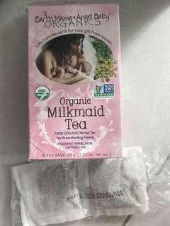 Organic earth mama Milkmaid tea for breastfeeding mama(8 tea bags)